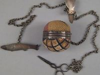 Antique Needlework Tools