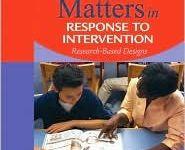 RTI-Response to Intervention