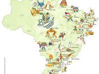 Mapa Do Brasil E Capitais Trabalho De Escola Trabalho De