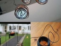 Jewelry and other objects made from wire