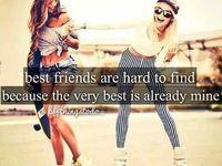 Bestfriends / Raffie +Gizzie = Best Friends Samantha + Karolanne = Best Friends