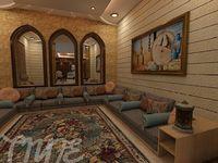 Arabic zone decoration