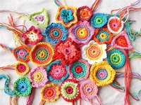 Crochet is a wonderful art form that allows one the opportunity to express yourself freely.  Only your imagination or lack thereof will limit you with this art form