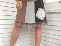 36 best upcycled sweater skirt dress ideas upcycle clothes