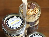 ... in a jar on Pinterest | Cupcakes in a jar, In a jar and Parfait