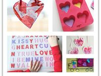 """Creating a """"go-to"""" collection of crafts that would be great to mail to a deployed parent or far flung grandparent in a care package. OR ... to make and to use to decorate your house. : )"""