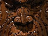 maori art/wood carving