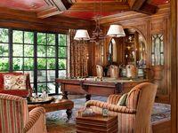 billiard rooms