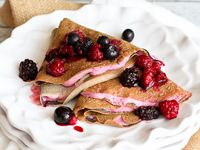 ... -- Crepes on Pinterest | Crepes, Buckwheat and Sauteed swiss chard