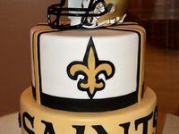 SAINTS CAKES, COOKIES, CUPCAKES & MORE!!!!