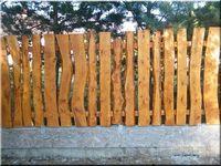 Заборы и калитки  /Fences and wickets / Заборы деревянные, кирпичные  и  комбинированные.Калитки и ворота./Wooden, brick and combined fences.  Gates.