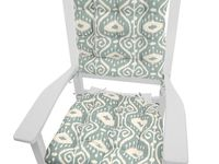 1000 Images About Rocking Chair Cushions On Pinterest