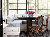 A collection of inspiring dining spaces and nooks