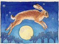 Ostara is the Pagan Spring Equinox feast. It gave name to the Christian Easter.