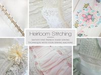 Heirloom Sewing and Smocking