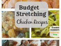 Recipes- Budget friendly