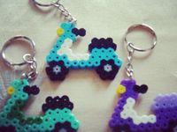 Strijkkralen sjablonen - Perler Beads DIY