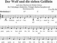 55 Der Wolf Und Die 7 Geisslein Ideen Wolf Marchen Basteln Marchen Geschichten
