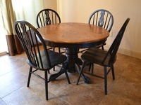 11 best images about painting an oak dining table on pinterest table