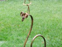 repurposed metal art