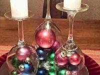 adornos para la mesa navidad