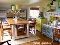 ♥ Craft Room Inspiration...