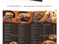 Menu Templates from 2$