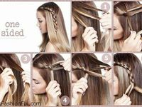 Love for braids and braided hair, inspirations and tutorials. ♥ ♥
