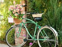 1000 Images About Romantic Bikes And Flowers On Pinterest