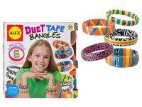Duck tape bracelets
