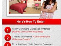 Command Dorm Makeover Contest