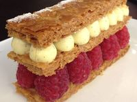 ... on Pinterest | Mille Feuille, Plated Desserts and Pistachios