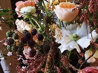 Incredible Edible designs / Edible elements in flower arranging