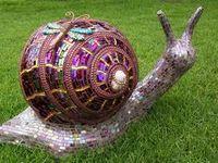 Crafts - Bowling Ball Art
