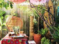 Garden, Yard, Landscape, Patio