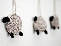 Crochet Stitches Counting : ... on Pinterest Primitive sheep, Counting sheep and Crochet patterns