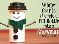 pill bottle crafts on Pinterest | Pill Bottles, Reuse Pill Bottles and ...