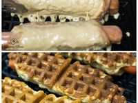 ... | Guacamole grilled cheeses, Lemon meringue pie and Waffle iron
