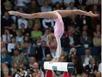 It's a gymnast thing
