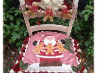 Fundas de sillas navidad