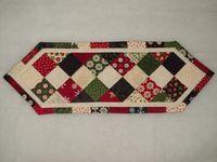 Caminos de mesa patchwork