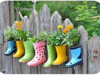ideas for outside the home---yard and garden
