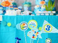 Party Theme - Rainbow Fish