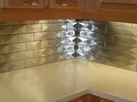 metallics on pinterest stainless steel tiles bling bling and tile