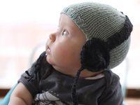 Babies, knitting