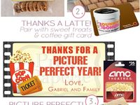 Gifts to give in a bag/jar