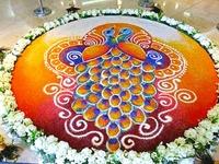 Flower carpet-pookalam & rangoli