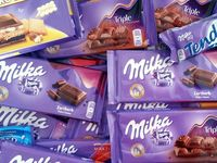 Milka and cadbury