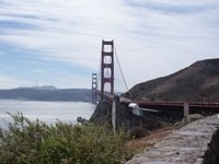 The final stage of my tour of Western USA ended at San Francisco on 2nd October 2008.