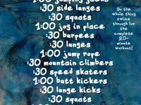 Cardio workouts/crossfit workouts